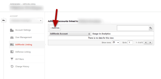 link adwords to analytics step 3